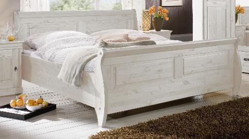 Einzelbett weiß holz  Bett Holz Weiß Lackiert ~ speyeder.net = Verschiedene Ideen für ...