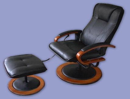 massagesessel dallas mit heizung und hocker leder. Black Bedroom Furniture Sets. Home Design Ideas